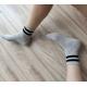 Çizgili Basic Soket Çorap