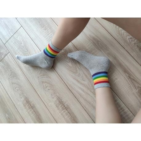 Gökuşağı Basic Soket Çorap