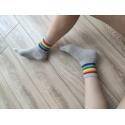 Rainbow Basic Soket Çorap
