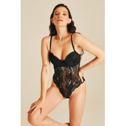 Lucia Dantel Bodysuit (Süngerli)