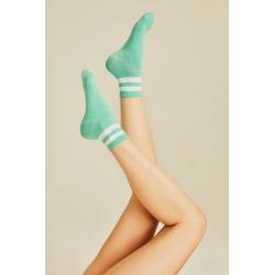 Çizgili Basic Soket Çorap (Farklı Renkler)