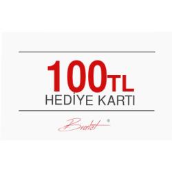 100 TL Değerinde E-Hediye Kartı