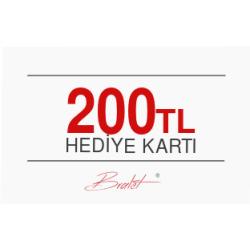 200 TL Değerinde E-Hediye Kartı