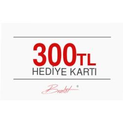 300 TL Değerinde E-Hediye Kartı
