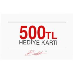 500 TL Değerinde E-Hediye Kartı
