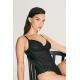 Holly Siyah Bodysuit (Süngersiz)