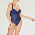 Holly Kobalt Mavi Bodysuit (Süngersiz)
