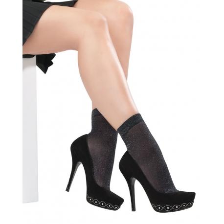 Simli Soket Çorap